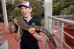 Elfyn Evans, M-Sport and a crocodile