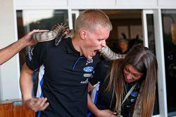 Ott Tanak, M-Sport y una serpiente
