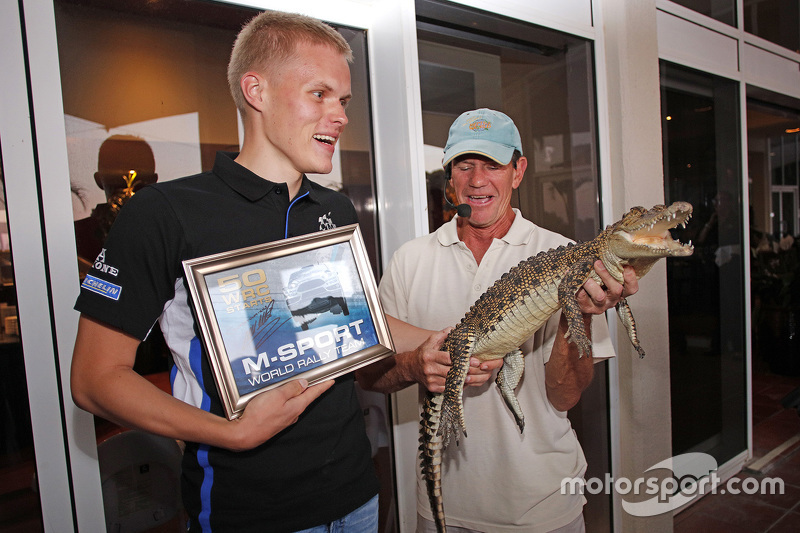 Ott Tanak, M-Sport and a crocodile