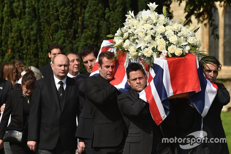 2015: Begrafenis