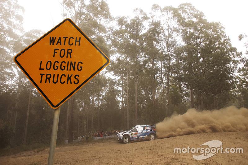 Отт Тянак та Райго Молдер, M-Sport Ford Fiesta WRC