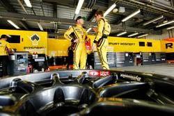 Rob Huff, Lada Vesta WTCC, Lada Sport Rosneft, und Nicky Catsburg, Lada Vesta WTCC, Lada Sport Rosne