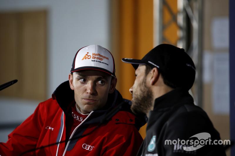 Jamie Green, Audi Sport Team Rosberg, Audi RS 5 DTM, und Gary Paffett, ART Grand Prix, Mercedes-AMG
