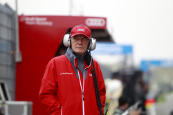 Dr. Wolfgang Ullrich, Audi's Head of Sport at Pitlane