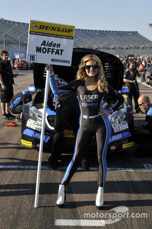 Laser Tools Racing Grid girl