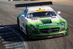 #66 DragonSpeed Mercedes-Benz AMG SLS GT3: Frank Montecalvo