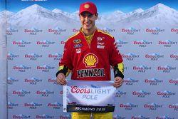 Le poleman Joey Logano, Team Penske