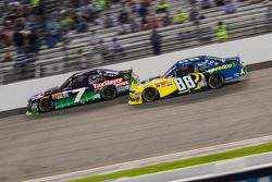 Regan Smith, JR Motorsports Chevrolet and Josh Berry, JR Motorsports Chevrolet