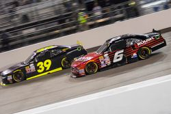 Ryan Sieg, RSS Racing Chevrolet and Darrell Wallace Jr., Roush Fenway Racing Ford