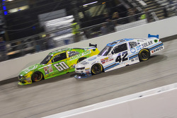 Chris Buescher, Roush Fenway Racing Ford and Brennan Poole, HScott Motorsports with Chip Ganassi