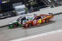 Dakoda Armstrong, Richard Petty Motorsports y Ross Chastain, JD Motorsports Chevrolet