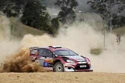 Nasser Al-Attiyah et Matthieu Baumel, Ford Fiesta RRC