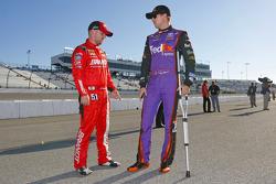 Denny Hamlin, Joe Gibbs Racing en muletas