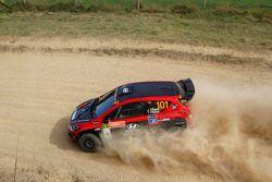 Justin Dowel und Toni Feaver, Hyundai i20 proto
