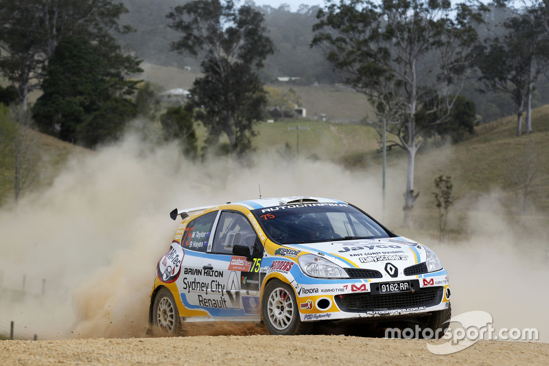 Molly Taylor und Bill Hayes, Renault Clio