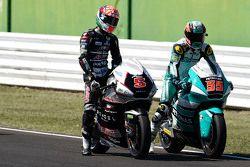 Johann Zarco, Ajo Motorsport et Hafizh Syahrin, Petronas Raceline Malaysia