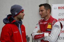 Miguel Molina, Audi Sport Team Abt Audi RS 5 DTM e Timo Scheider, Audi Sport Team Phoenix Audi RS 5 DTM