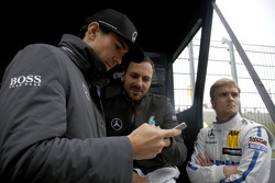 Robert Wickens, HWA AG Mercedes-AMG C63 DTM, Gary Paffett, ART Grand Prix Mercedes-AMG C63 DTM, Luca