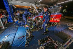 Área de equipo Hyundai Motorsport