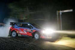 Thierry Neuville y Nicolas Gilsoul, Hyundai i20 WRC, Hyundai Motorsport