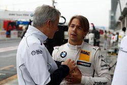 Jens Marquardt, directeur du sport automobile pour BMW et Augusto Farfus, BMW Team RBM BMW M34 DTM
