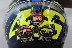 Un casque spécial pour Valentino Rossi, Yamaha Factory Racing
