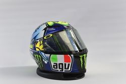 Speciale helm voor Valentino Rossi, Yamaha Factory Racing