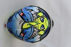 Special helmet design for Valentino Rossi, Yamaha Factory Racing