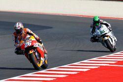 Dani Pedrosa, Repsol Honda Team et Eugene Laverty, Aspar MotoGP Team