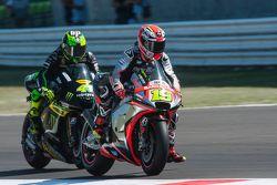 Alvaro Bautista, Aprilia Racing Team Gresini y Pol Espargaro, Tech 3 Yamaha