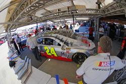 Inspección Técnica: Jeff Gordon, Hendrick Motorsports Chevrolet