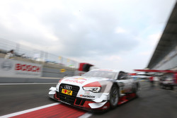 Hans-Joachim Stuck in the Audi RS 5 DTM race taxi