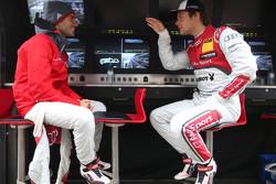 Miguel Molina, Audi Sport Team Abt Audi RS 5 DTM y Adrien Tambay, Audi Sport Team Abt Sportsline Aud