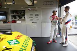 Mike Rockenfeller, Audi Sport Team Phoenix Audi RS 5 DTM y Martin Tomczyk, BMW Team Schnitzer BMW M4