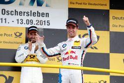 Podium: derde Antonio Felix da Costa, BMW Team Schnitzer BMW M4 DTM