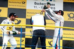 Podium: Winner Timo Glock, BMW Team MTEK BMW M3 DTM and Bruno Spengler, BMW Team MTEK BMW M4 DTM wit