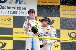 Podium: Antonio Felix da Costa, BMW Team Schnitzer BMW M4 DTM
