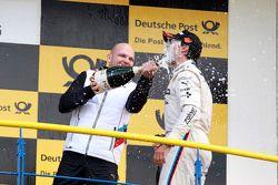 Podium: Ernest Knoors, BMW Team MTEK e Bruno Spengler, BMW Team MTEK BMW M4 DTM