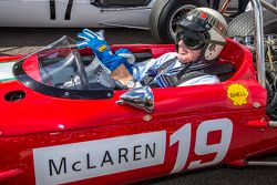 Sir Jackie Stewart partecipa al tributo a Bruce McLaren
