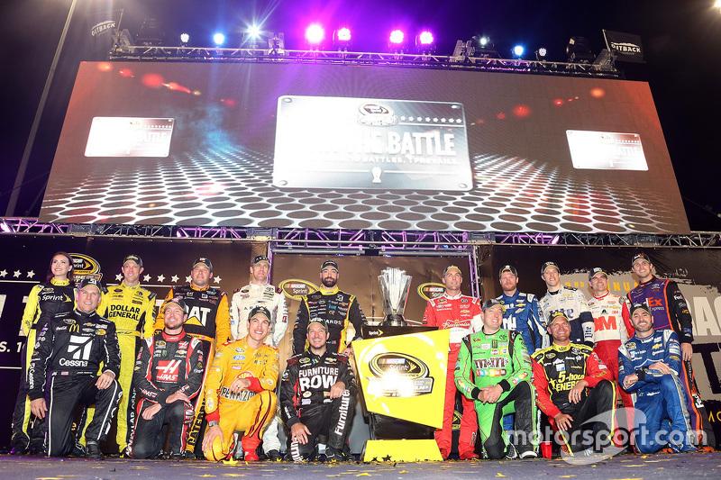 Les qualifiés pour la Chase for the Sprint Cup 2015