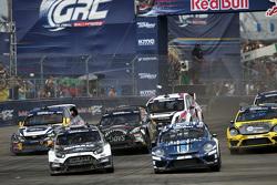 Rallycross action