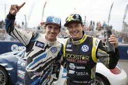 Победитель - Скотт Спид и второе место - Таннер Фауст, Andretti Autosport Volkswagen
