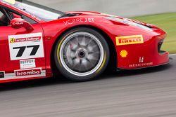 #77 Ferrari Quebec Ferrari 458TP : Emmanuel Anassis