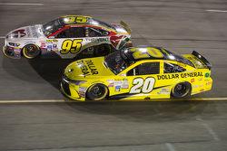 Michael McDowell et Matt Kenseth, Joe Gibbs Racing Toyota