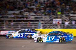 David Ragan, Michael Waltrip Racing Toyota and Ricky Stenhouse Jr., Roush Fenway Racing Ford