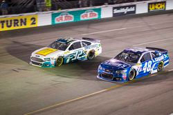 Jeffrey Earnhardt and Jimmie Johnson, Hendrick Motorsports Chevrolet