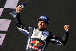 Winner and 2015 WRC champion Julien Ingassia, Volkswagen Motorsport
