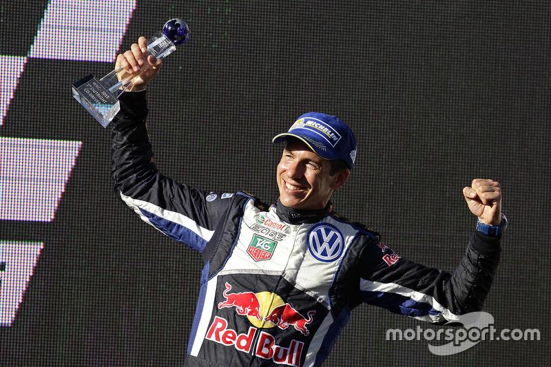 Winner and 2015 WRC champion Julien Ingassia, Volkswagen Motorsport