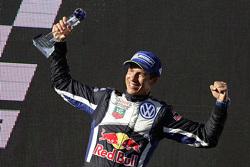 Le vainqueur et le champion du monde 2015 Julien Ingassia, Volkswagen Motorsport