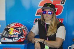 Dal box del Team Suzuki Ecstar MotoGP